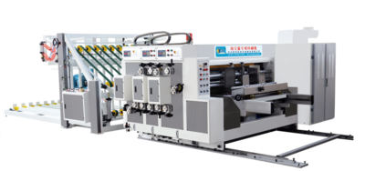 218 型自动前缘送纸印刷开槽机  218  Type Automatic Lead Edge Feeding Printing Slotting Machine