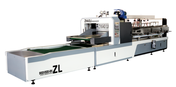 ZL-900x500-6N型自动插格机   ZL-900X500-6N Type Automatic Clapboard Partition Assembler Machine