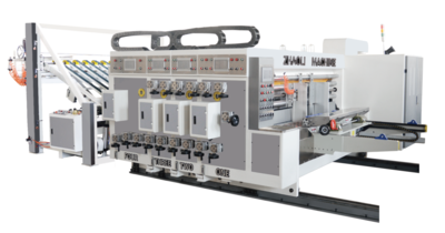 270经济 型前缘送纸印刷(模切)开槽机   270 Type Automatic Independent Lead Edge Feeding Printing (Die Cutting)Slotti